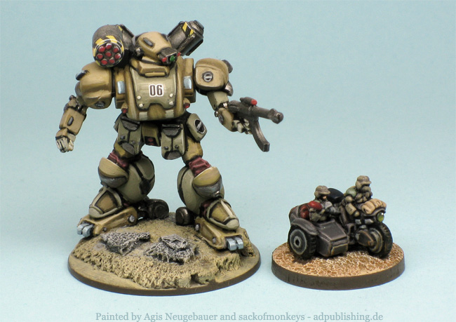 Heavy Gear Fusilier Hovertank (12mm 1/144) - Forum - DakkaDakka
