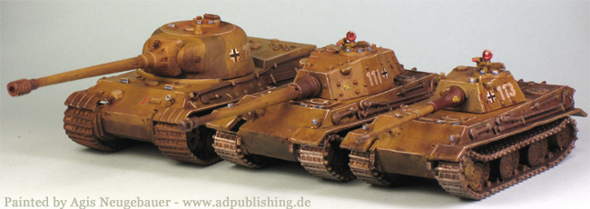 """[TMP] """"1:100 German E-50 and E-75 tanks (Heer46)"""" Topic"""