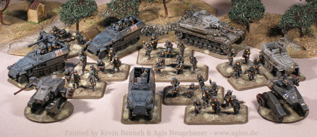Agis Page of miniature painting and gaming - 15mm German