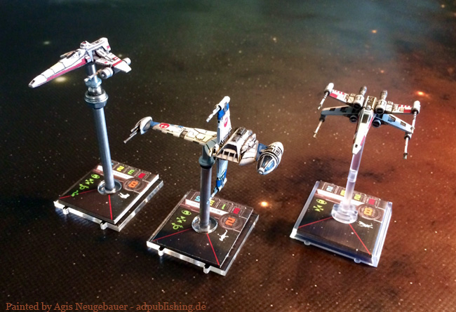 Agis' X Wing repaints Forum DakkaDakka | Roll the dice