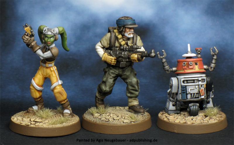 Scale comparison FFGs Star Wars Legion